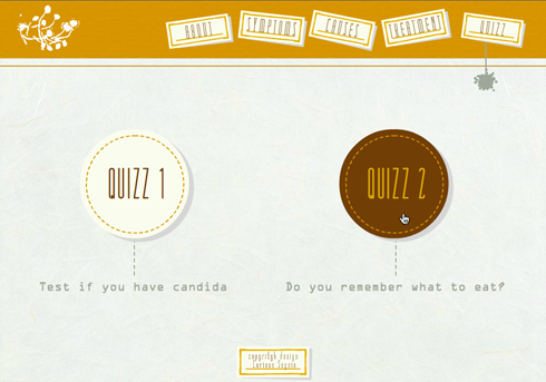 All About Candida/Candidiasis Website Quizz 2